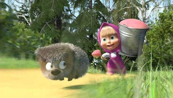 Le dessin animé russe Macha et l'Ours a été vue plus d'un milliard de fois - Sputnik France