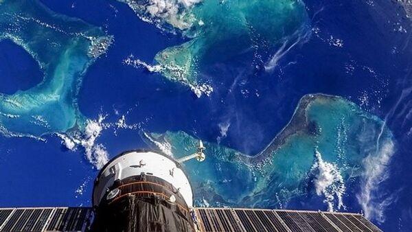 La Terre vue de l'espace par le cosmonaute russe Oleg Artemiev - Sputnik France