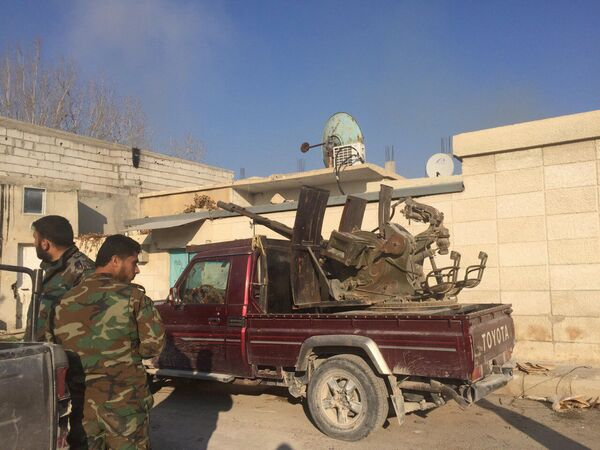 Opération spéciale de l'armée arabe syrienne à Damas - Sputnik France