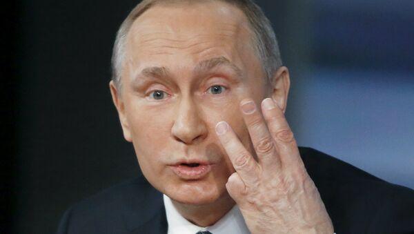 Poutine: l'attitude de la délégation de l'UE n'est pas très européenne - Sputnik France
