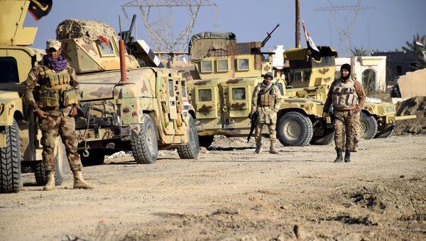 Soldats irakiens à Ramadi, le 21 décembre 2015 - Sputnik France