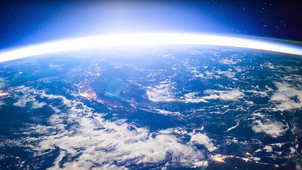 Lever de soleil au-dessus du Pacifique depuis l'espace - Sputnik France