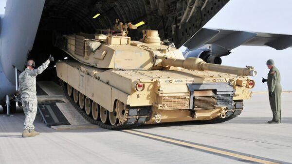 Char M1 Abrams - Sputnik France