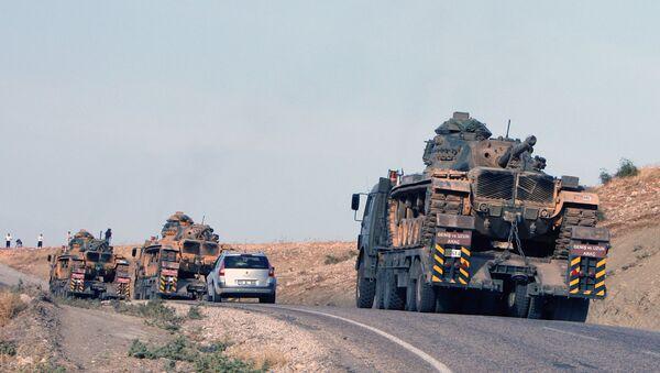 Des chars turcs près de la frontière turco-irakienne - Sputnik France