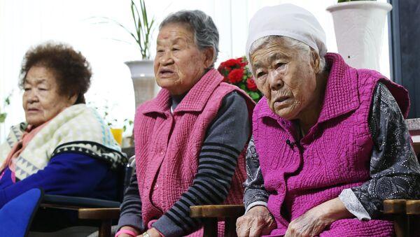 Femmes de réconfort survivantes, Déc. 28, 2015 - Sputnik France