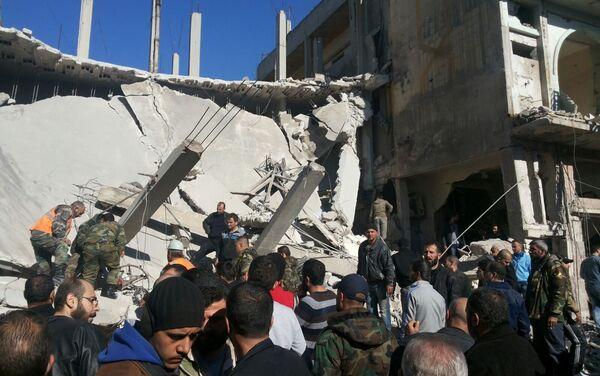Ttriple attentat dans une ville syrienne de Homs - Sputnik France