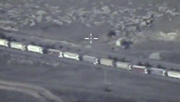 Pillage pétrolier de Daech en Syrie - Sputnik France