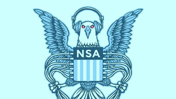 EFF NSA logo parody - Sputnik France