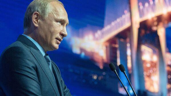 Ruslands præsident Vladimir Putin - Sputnik France