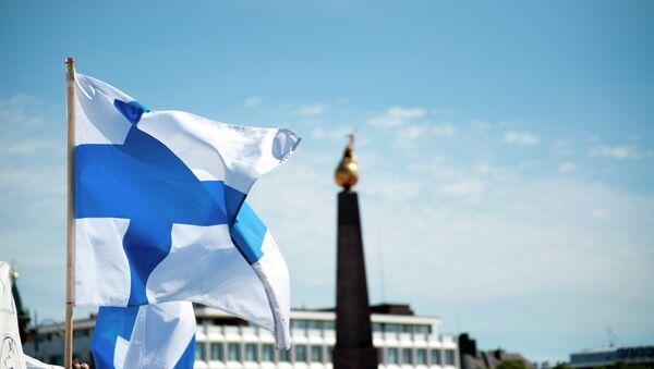 Drapeau finlandais - Sputnik France