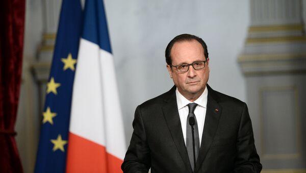 François Hollande, presidente de Francia - Sputnik France