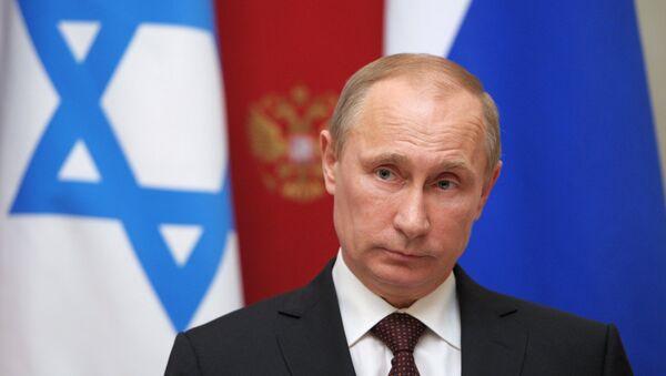 Vladimir Poutine lors d'une rencontre avec Benyamin Netanyahou - Sputnik France