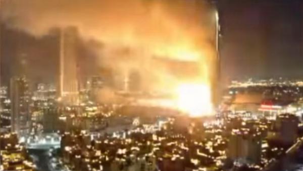 Incendie dans un hôtel de Dubai - Sputnik France