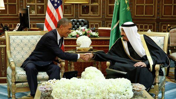 Barack Obama et le roi Salmane d'Arabie saoudite - Sputnik France