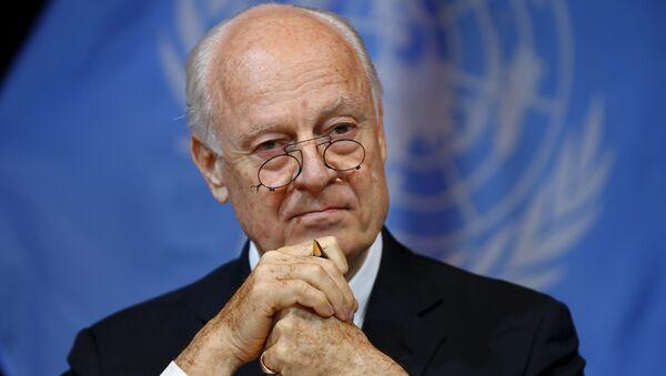 Le Secrétaire général des Nations unies sur la Syrie Staffan de Mistura - Sputnik France