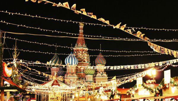L'esprit de Noël à Moscou - Sputnik France