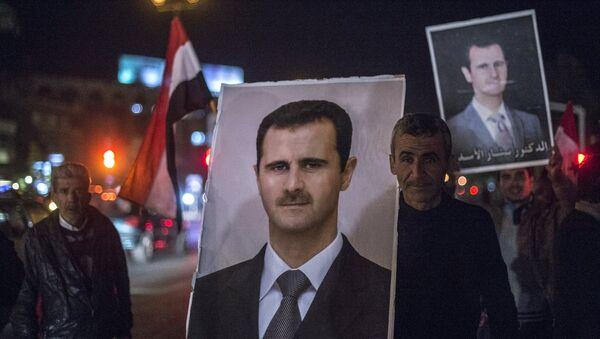 Washington envisage la démission d'Assad pour mars 2017 - Sputnik France