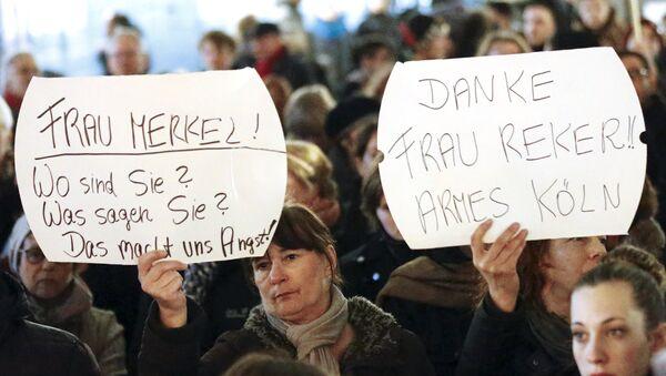 PL'Allemagne en émoi suite aux agressions sexuelles de Cologne - Sputnik France