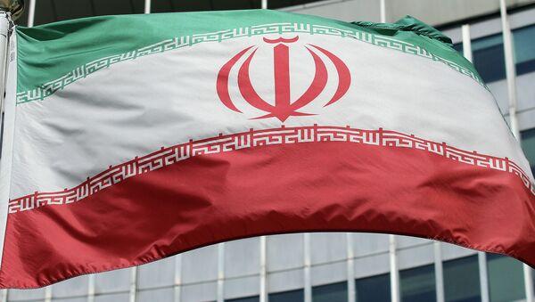 Le drapeau iranien devant le bâtiment de l'ONU - Sputnik France