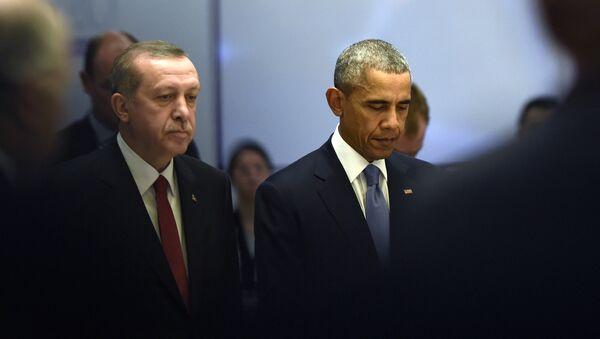 Le silence de Washington le rend complice des crimes d'Erdogan - Sputnik France