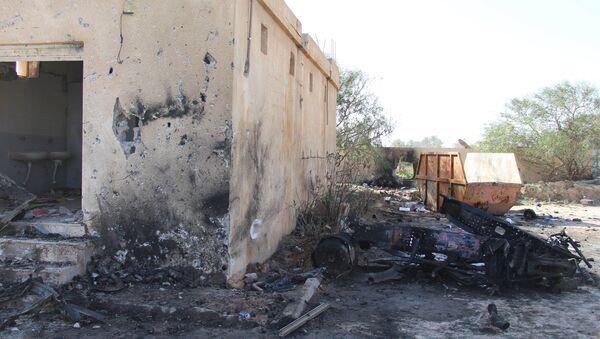 La ville de Zliten après une explosion, le 7 janvier 2016 - Sputnik France
