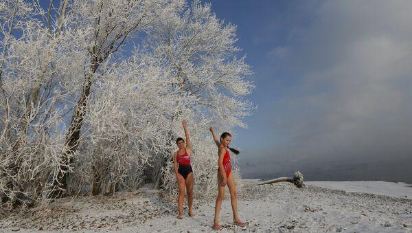 Vous avez froid? Bienvenue à un club de natation en Sibérie! - Sputnik France