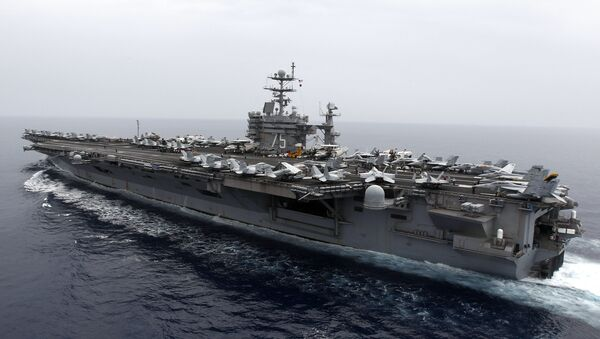 Le porte-avions américain USS Harry.S Truman - Sputnik France