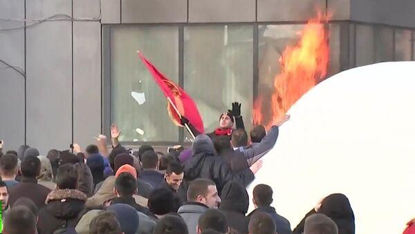 Kossovo: l'opposition dénonce avec violence un accord avec la Serbie - Sputnik France