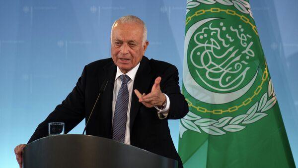 Le secrétaire général de la Ligue arabe Nabil el-Arabi - Sputnik France