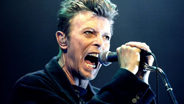 David Bowie performs during a concert in Vienna, Austria in this February 4, 1996 file photo - Sputnik France