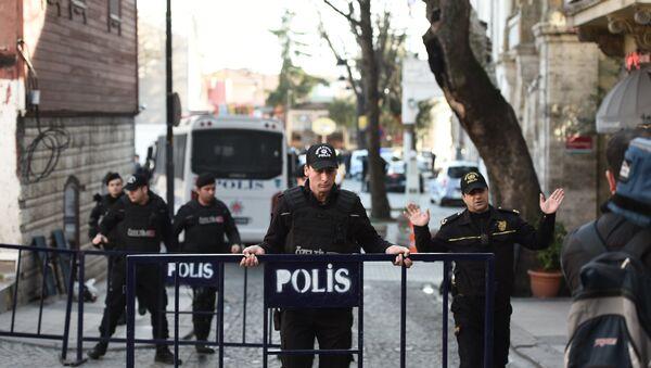 explosion dans le centre d'Istanbul, en Turquie - Sputnik France