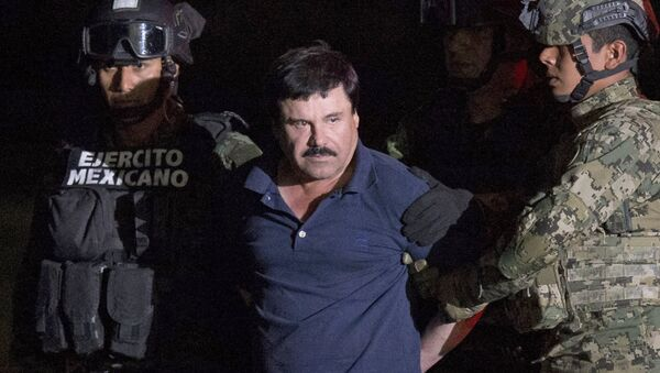 Arrestation du narcotrafiquant mexicain El Chapo - Sputnik France