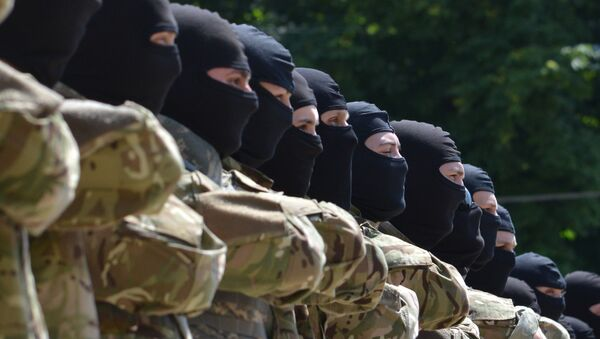 régiment ukrainien Azov - Sputnik France