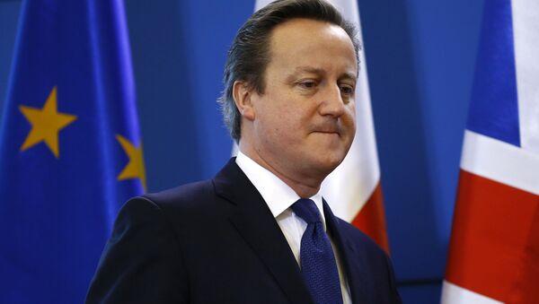 Le premier ministre britannique David Cameron - Sputnik France