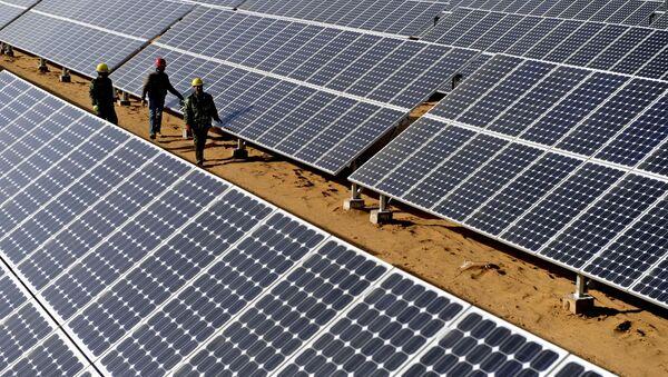 Les panneaux solaires - Sputnik France