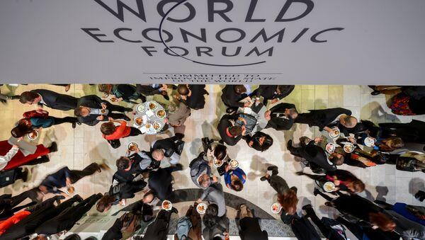Le Forum Économique Mondial à Davos, en 2015 - Sputnik France