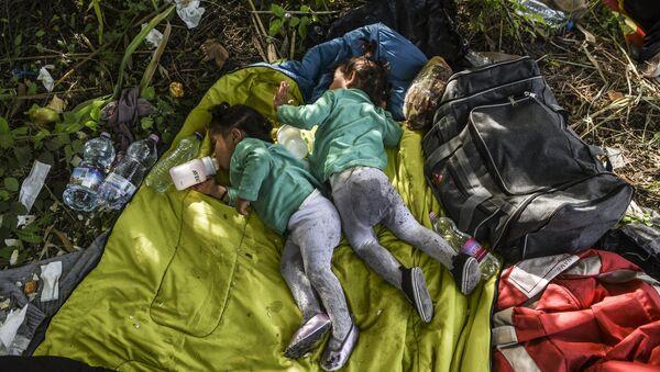 Les enfants des migrants. Archive photo - Sputnik France