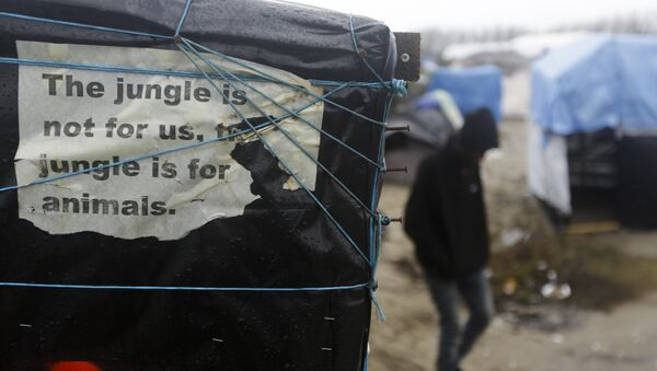 Jungle de Calais - Sputnik France