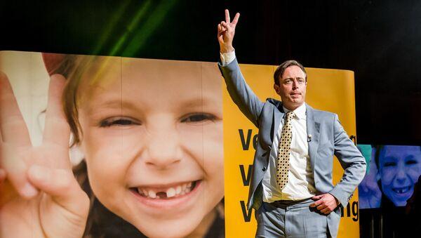 Président du parti politique N-VA (Alliance néo-flamande) Bart De Wever. Archive photo - Sputnik France