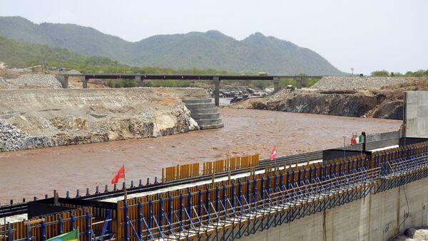 Éthiopie. Nil Bleu. Construction du barrage. - Sputnik France
