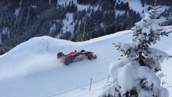 Max Verstappen a tenté de piloter F1 sur une piste de ski - Sputnik France