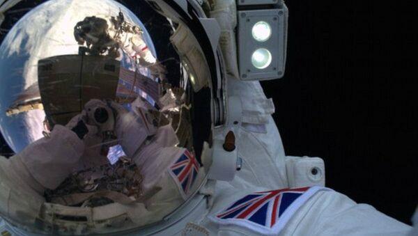 L'astronaute britannique Tim Peake - Sputnik France