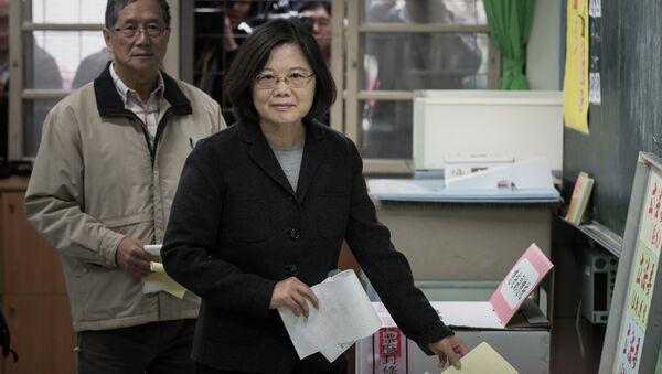 L'élection présidentielle taïwanaise de 2016 - Sputnik France