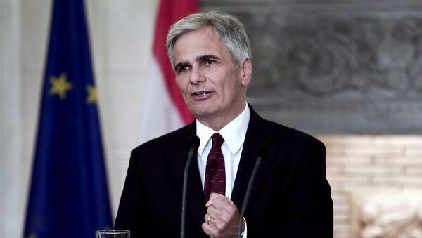 Werner Faymann, chancelier fédéral autriche - Sputnik France