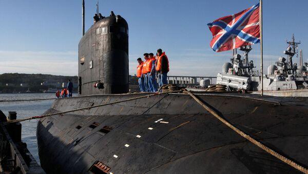 Le sous-marin diesel-électrique Krasnokamensk à Vladivostok - Sputnik France