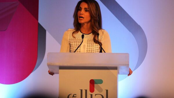 La reine Rania de Jordanie - Sputnik France