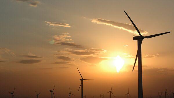 Wind power stations in Xinjiang, China - Sputnik France
