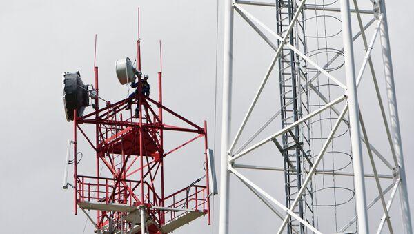 Une antenne de téléphonie mobile (image d'illustration) - Sputnik France