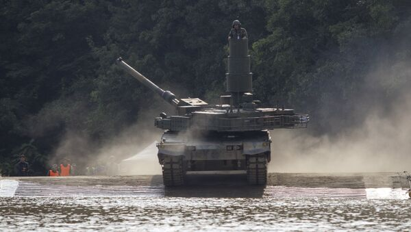 un char d'assaut K2 Black Panther - Sputnik France