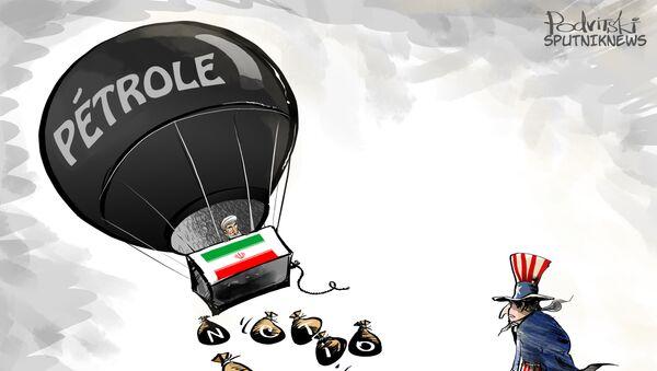 L'Iran augmente sa production de brut de 500.000 bpj - Sputnik France